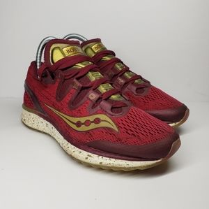 Saucony Freedom Iso Boston Red Gold